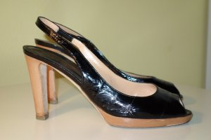 Sergio Rossi Chaussures noir cuir