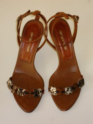 Sergio Rossi High-Heeled Sandals brown