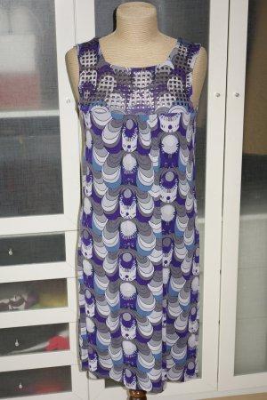 Org. SET Sommerkleid mit Nieten gemustert Jersey Gr.36