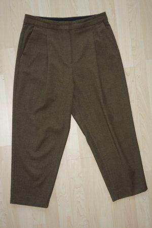 Sportmax Pantalone culotte cachi Lana vergine