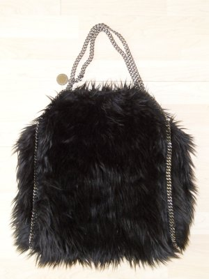 Org. STELLA McCARTNEY Falabella fake fur XL tote sold out