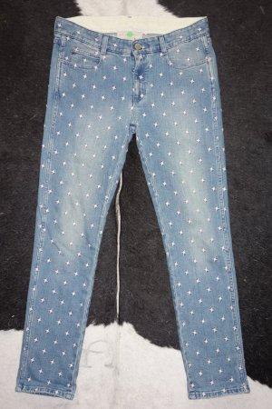 Org. STELLA McCARTNEY Runway Jeans mit Stickereien Gr. 27