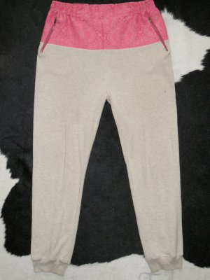 Org. STELLA McCARTNEY Runway Jog Pant mit Brockat Saum sold out Gr.