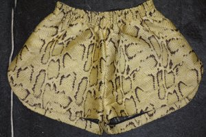 Org. STELLA McCARTNEY Shorts Animalprint mit Lurex Gr.36