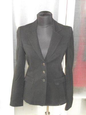 Org. STRENESSE Blue Jersey Blazer in schwarz Gr. 36