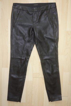 Strenesse Pantalone in pelle nero
