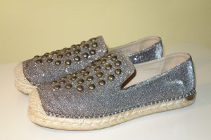 Stuart weitzman Slip-on Shoes bronze-colored-silver-colored