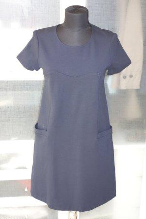 Org. TARA JARMON Jersey Kleid in dunkelblau Gr.36