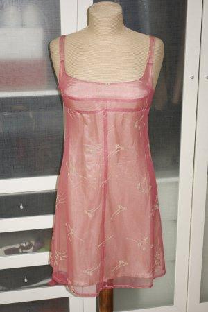 Org. TARA JARMON vintage Träger-Kleid mit Stickereien Gr.36