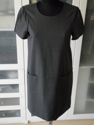 Org. THEORY Cocktailkleid in grau Gr.38 wie neu