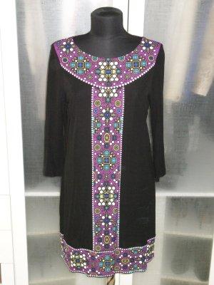 Org. TIBI New York Jersey Kleid mit Muster Gr. M