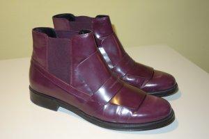 Org. TOD'S Chelsea Boots burgundy Gr.39