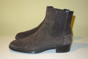 Org. TOD'S Chelsea Boots in dunkelbraun Gr.39