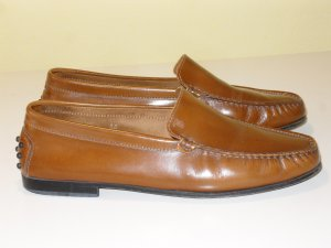 Org. TOD'S Loafer/Slipper in braun Gr.38