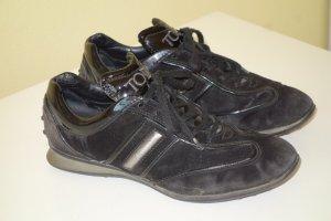 Org. TOD'S Sneaker aus Veloursleder Gr.36,5