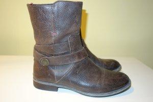 Org. TOMMY HILFIGER Leder Boots Gr.39