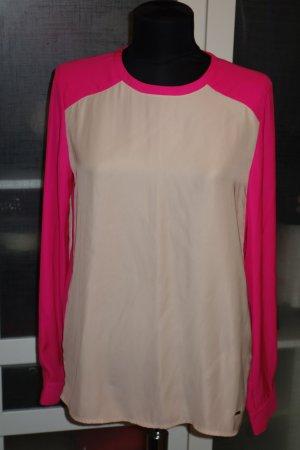 Org. TOMMY HILFIGER oversized Bluse Gr.36 colour blocking NEU+Etikett