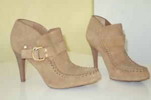 Org. TORY BURCH Ankle Booties aus Wildleder in camel Gr.39,5 NEU
