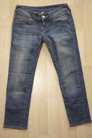 Org. TRUE RELIGION 7/8 Jeans mit klassischer Waschung Gr.26