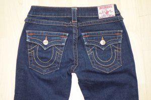 Org. TRUE RELIGION Billy straight leg Jeans in dunkelblau Gr.27