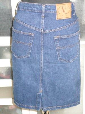 Org. VALENTINO Jeans vintage highwaist Jeansrock Pencil Gr.