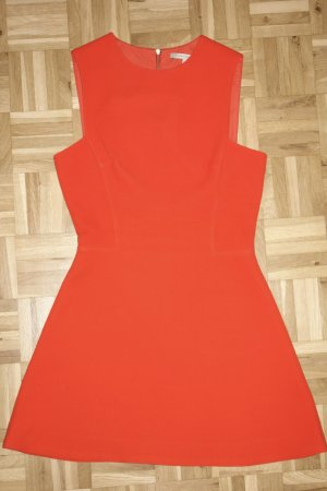 Org. VICTORIA BECKHAM Runway Etuikleid in orange Gr.34/36