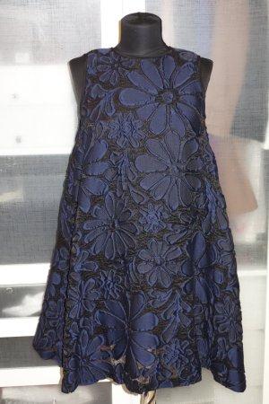 Org. VICTORIA VICTORIA BECKHAM Runway Jacquard Kleid mit Blumenmuster Gr.36 NEU+Etikett