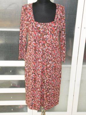 Org. WEEKEND Max Mara Jersey Kleid mit Print Gr.38/40