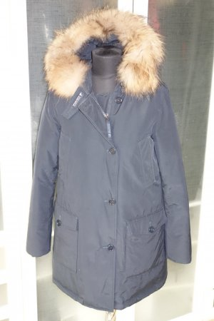 Org. WOOLRICH Arctic Parka in navy Gr.L top