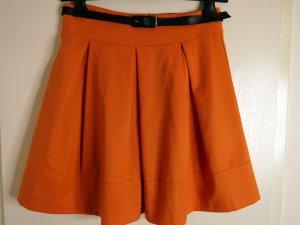 Mohito Falda a cuadros naranja oscuro
