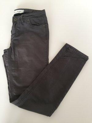 Organic Cotton Five Pocket Hose aus Biobaumwolle Hess Natur grau Gr. 38