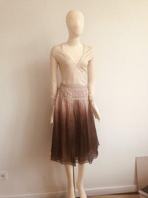 St. emile Silk Skirt multicolored