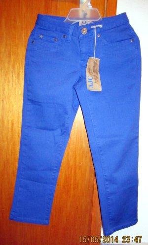Orginal AJC Capri-Jeans/ Dreiviertelhose - neu - Gr. 32 - royalblau