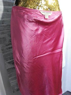 Ann LLewellyn Zijden rok roze
