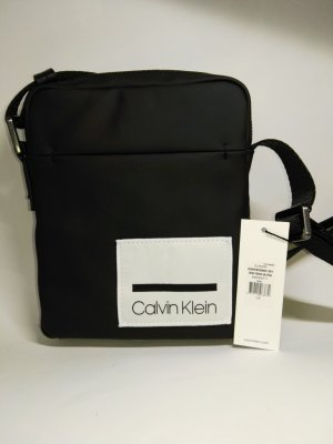Calvin Klein Handtas wit-zwart