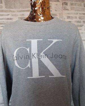 Orginal  Calvin Klein, Sweatshirt, grau,Gr.M, Hochwertig