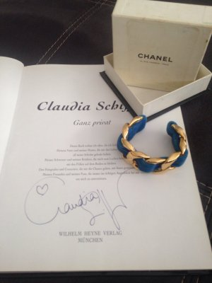 Chanel Armlet blue-gold-colored