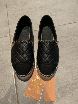 Chanel Alpargatas negro