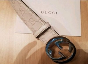 Orginal Damen Gucci Gürtel 85cm