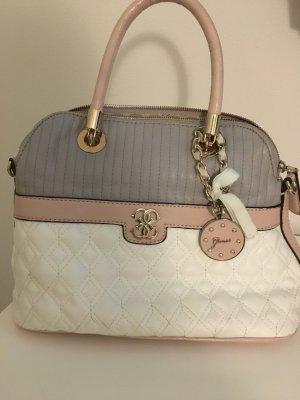 Orginal Guess Tasche, weiß/grau/rosa