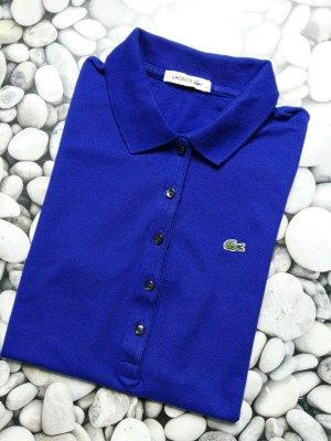 Orginal Lacoste Polo Shirt, Gr 40/L, Blau!