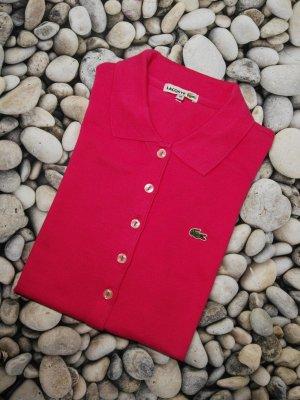 Orginal Lacoste Polo Shirt, Pink, Neuwertig!