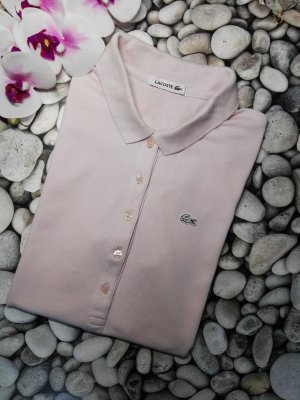 Orginal Lacoste Polo Shirt, rose', Gr.42, neuwertig!