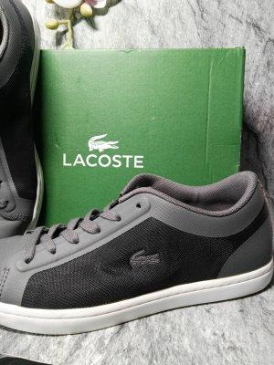 Orginal Lacoste Sneaker, Gr. 38, Mesh, grau, Neuwertig!