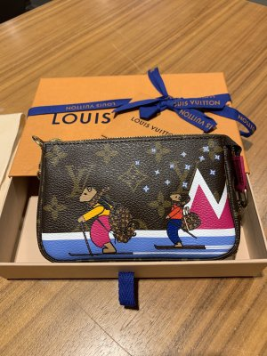 Orginal Louis vuitton Mini Pochette Limited Fullset