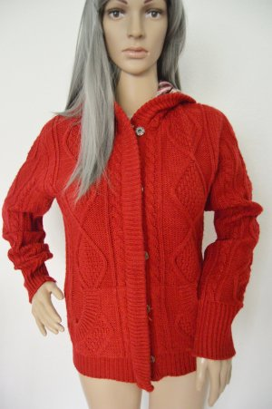 LTB Coarse Knitted Jacket red