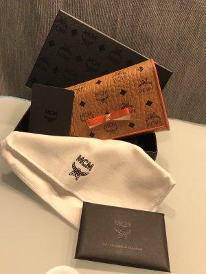 MCM Wallet cognac-coloured-orange