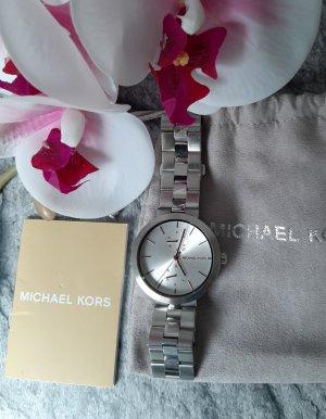 Orginal  Michael  Kors Chronograph, mattsilber/rose', Hochwertig!