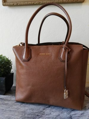 "Orginal Michael Kors Handtasche""Mercer""Large, braun/gold"