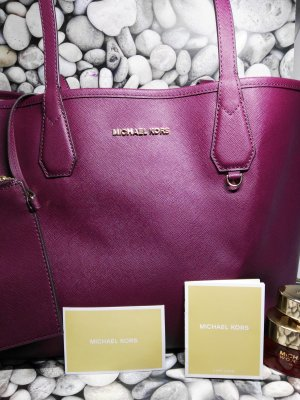 "Orginal Michael Kors ""Jet Set"" Shopper, Bordeaux, Neu & Etikett"